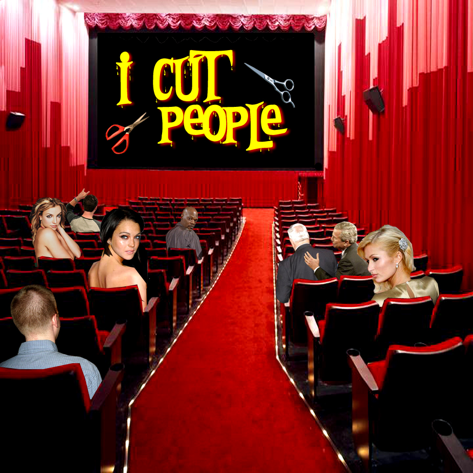 Cover art for I Cut People (self titled)